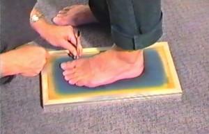 voet-aftekenen